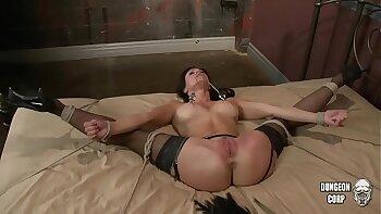 Fetish girl Kendra Lust till end of video