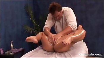 Cherokee films the long penis massage here