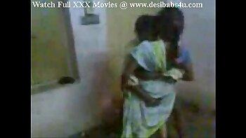Indian aunty enjoys facial