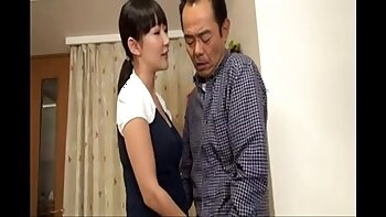 Yui Komine hot banging young masseuse with a strap