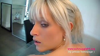 Blonde German Wife Fucked Fucked In Classroom She Got Anal Load