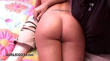 Mother is spanked till she screams