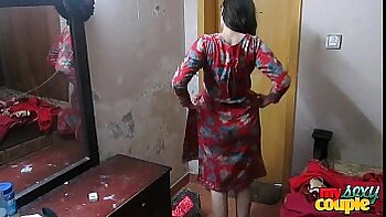 Cheating Indian Wife Getting Naked with Lover