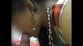 Awesome big assed Indian shemale likes her cock