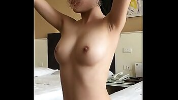 Cute and curious lady fingers pretty circumcised sweetie