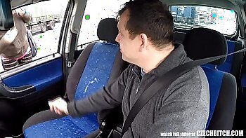 Two czech babes fucked by cop for some money