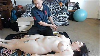 Busty Asian Pink Teen Try Out Ass Massage